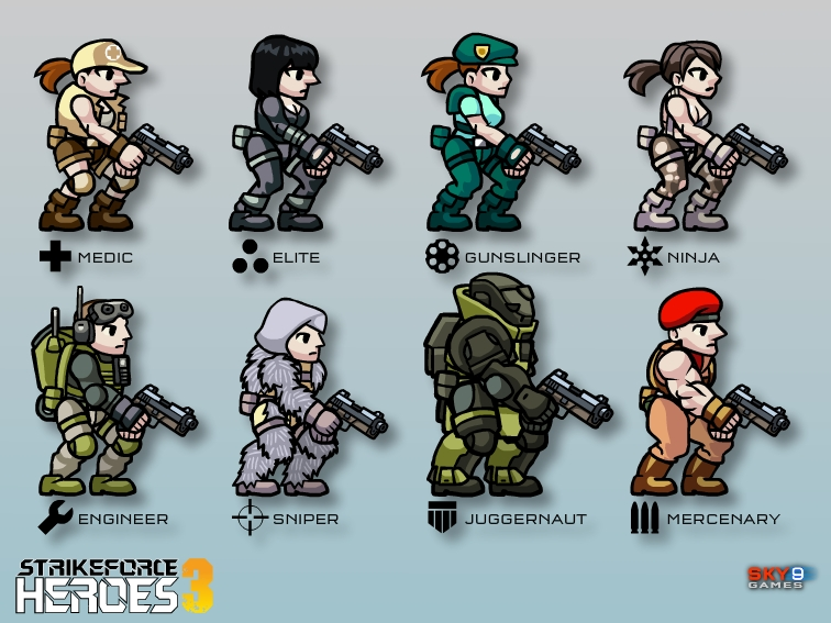 All the classes from SFH3.