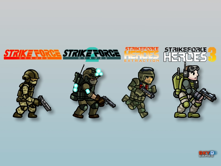 A look at the evolution of the SFH soldier.